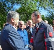 President of Ukraine emphasises the importance of Avdiivka Coke for the town